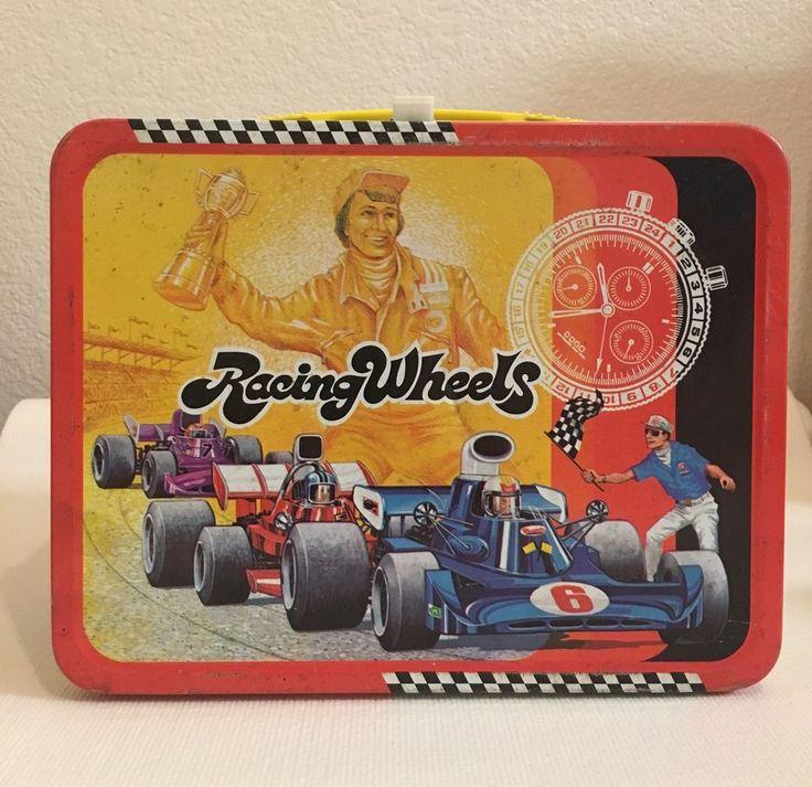 Vintage 1977 Metal Lunch Box King Seeley Racing Wheels  | eBay