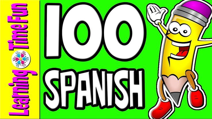 SPANISH Numbers 1-100 | Learn Spanish | Spanish for Kids | Numbers in Sp...