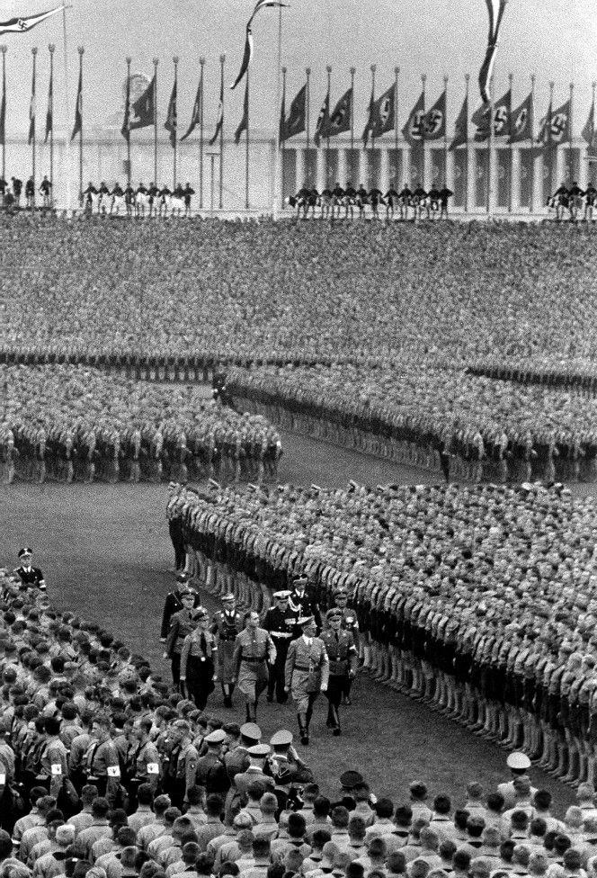 Nuremberg Rally NSDAP.
