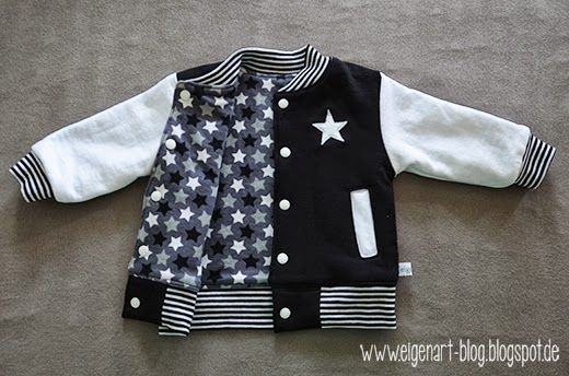 Baby-Collegejacke |college-jacket