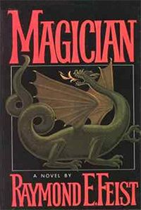 Magician - Raymond E Feist  I first read this in '85 during Christmas break my junior year in college. I read Silverthorn the next day. After 26 years I still read this book at least once a year. It remains my favorite book.