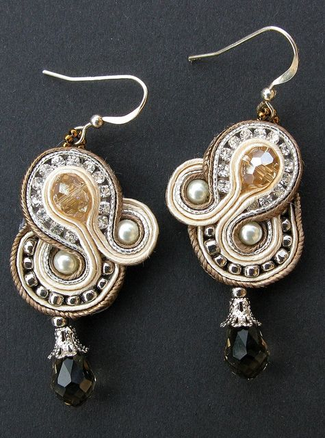 crystal regalia earrings by Cielo Design, via Flickr