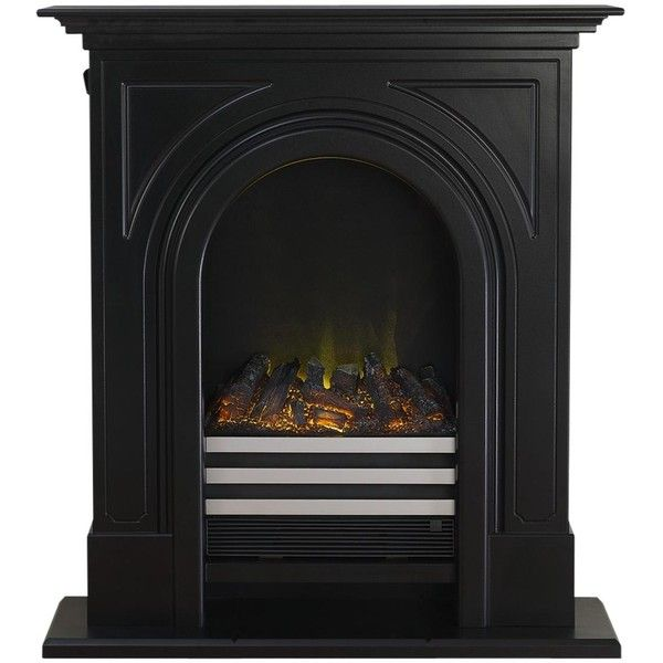 Adam Fire Surrounds Durham Electric Fireplace Suite (3.410 DKK) ❤ liked on Polyvore featuring home, home decor, fireplace accessories, electric fireplace accessories, electric fireplace, black wall mounted electric fireplace and wall mount electric fireplace