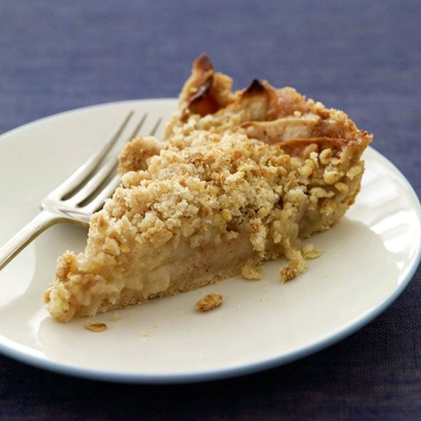 Apple pie crumble... who would have thought you could have a great slice of pie guilt free(ish).