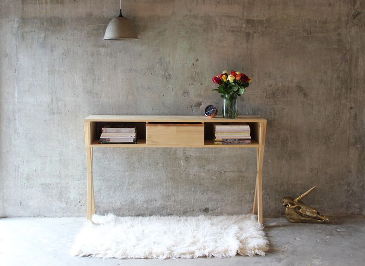 Narrow Sideboard For Hallways And Small Spaces Designed And Handcrafted In New Zealand By Oliver