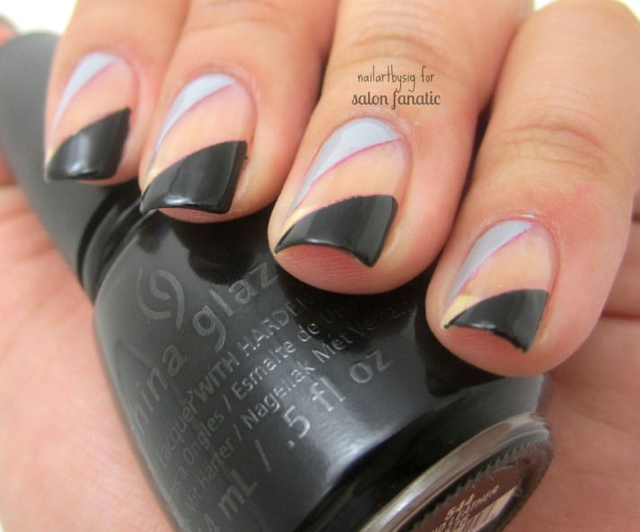 120 best Negative Space Nail Art images on Pinterest | Space nails ...