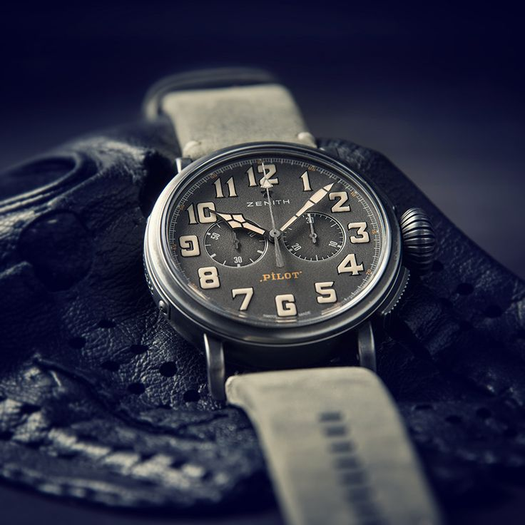 Zenith Heritage Pilot Cafe Racer edition
