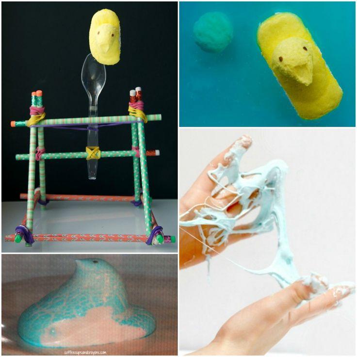 10 Peeps Science Experiments