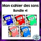 """""""Mon cahier des sons"""" is a series of booklets focusing on the various sounds in French.  Each booklet contains 7 activities for students to use whi..."""