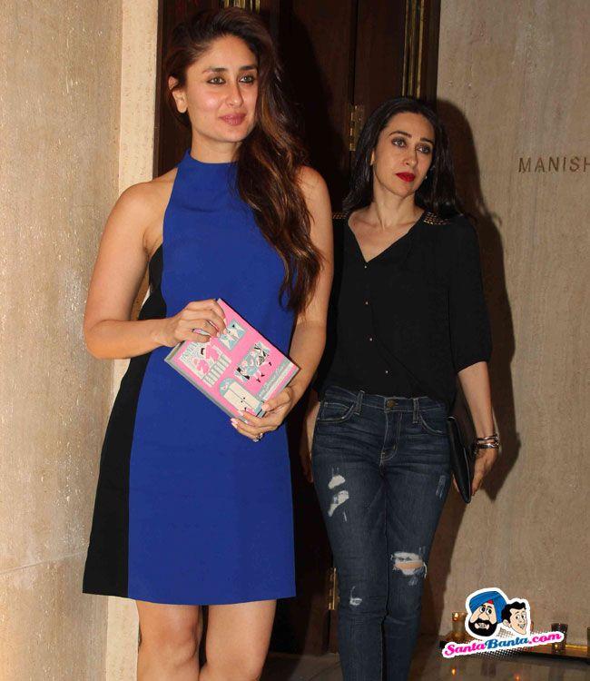 Manish Malhotra Birthday Bash -- Kareena Kapoor and Karisma Kapoor Picture #…