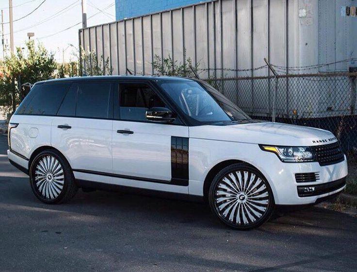 Black Amp White Range Rover Land Rover Pinterest White