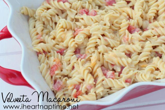 Get the recipe for this simple and yummy velveeta macaroni.