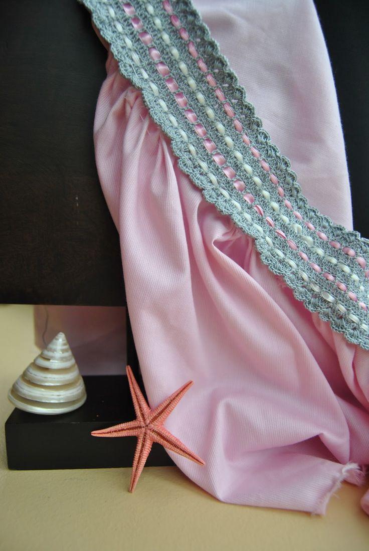 Aplicaciones de ganchillo  para vestidos, manteles,sábanas, camisetas , jersey, personalizadas todo hecho a mano de forma artesanal.
