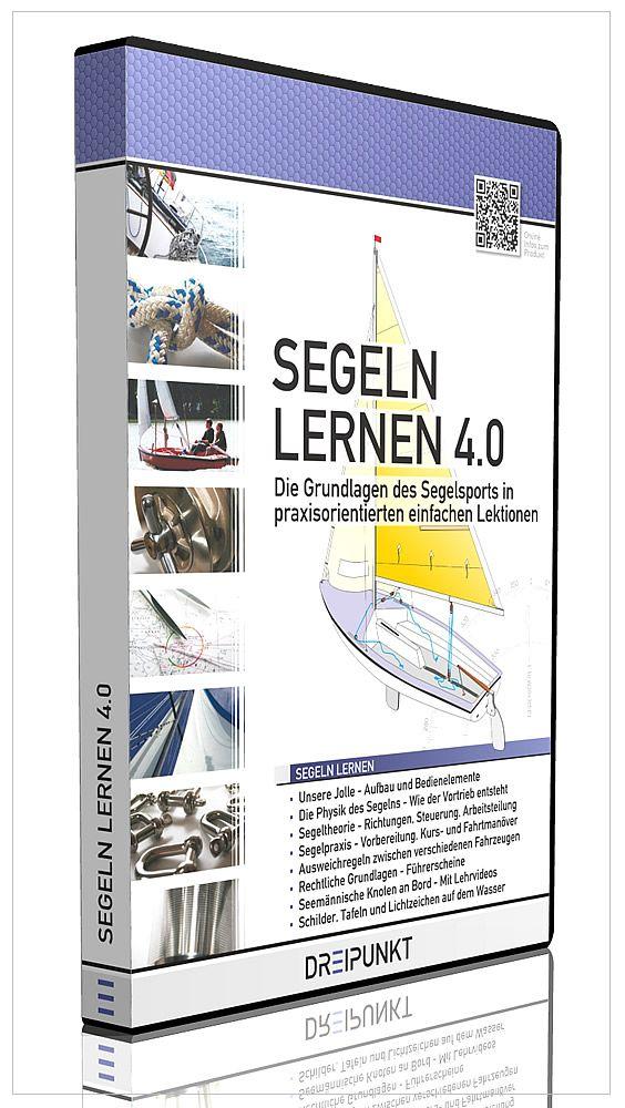 Maritime Lernsoftware 'Segeln Lernen' aus dem DREIPUNKT-VERLAG - Schulze Media GmbH