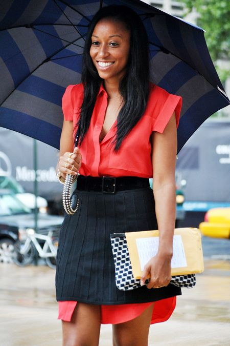 Street Style Of The Day: Forget Hat Tricks, Shiona Gets Clever With Her Skirt