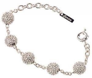 Swarovski crystal 5 ball bracelet