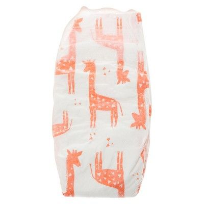 Honest Company Diapers Club Pack Balloons + Giraffes Size 1 (80 ct), Balloons/Giraffes