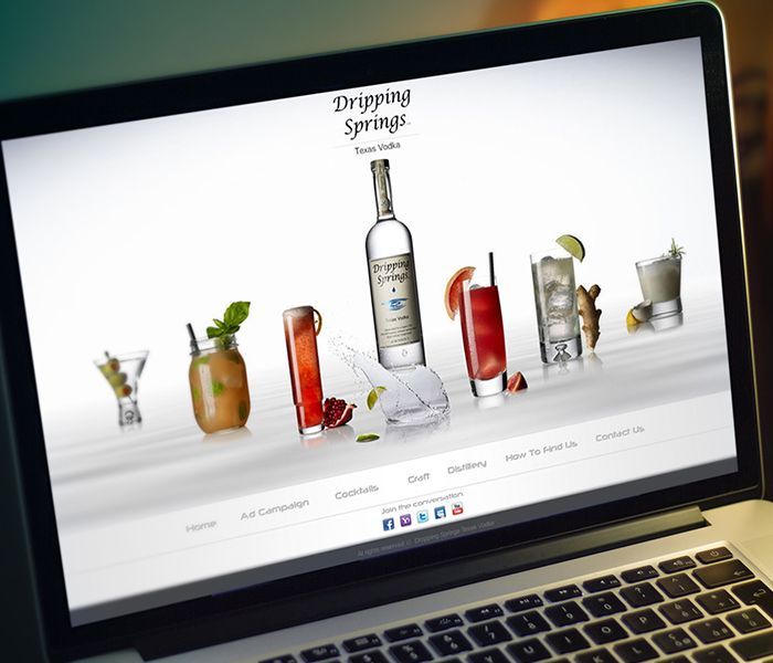 Dripping Springs Texas Vodka