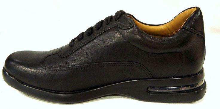Cole Haan Men's C07035 Sneaker best buy Nike Air Conner Black Leather Italian  #ColeHaan #Oxfords