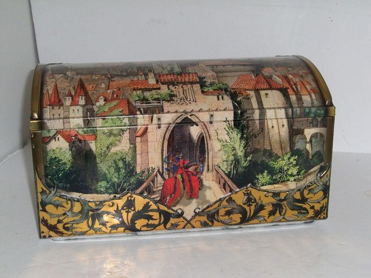 Best Details about Large Collectible Tin Cookie Tin by Lebkuchen Schmidt uc Nurnberg Das Alte ud