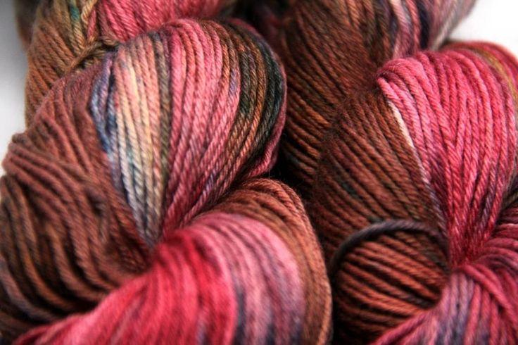 vlna merino BIO - LES NA JESEŇ - Hand Dyed Yarn - Fingering - ručne farbená vlna na pletenie :: eshop.vlna-art.sk