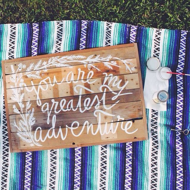 """""""You are my greatest adventure"""" by Shannon Righetti"""