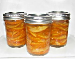 365 Days of Creative Canning: Day 52: Honey Orange Slices