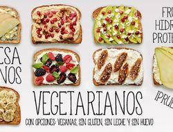 Siete desayunos vegetarianos saludables para toda la for Comida saludable para toda la semana
