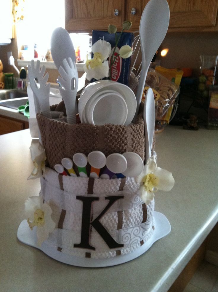 For a Bridal Shower- I see many more in my future so this would be a fun alternative gift idea