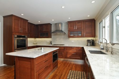 1599 W. Old Mill Road, Lake Forest - Avanti kitchen with custom Italian ash cabinetry completed in 2013. Presented by Lori Baker, Broker