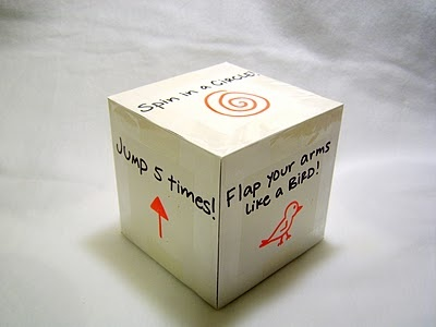 exercise cube game