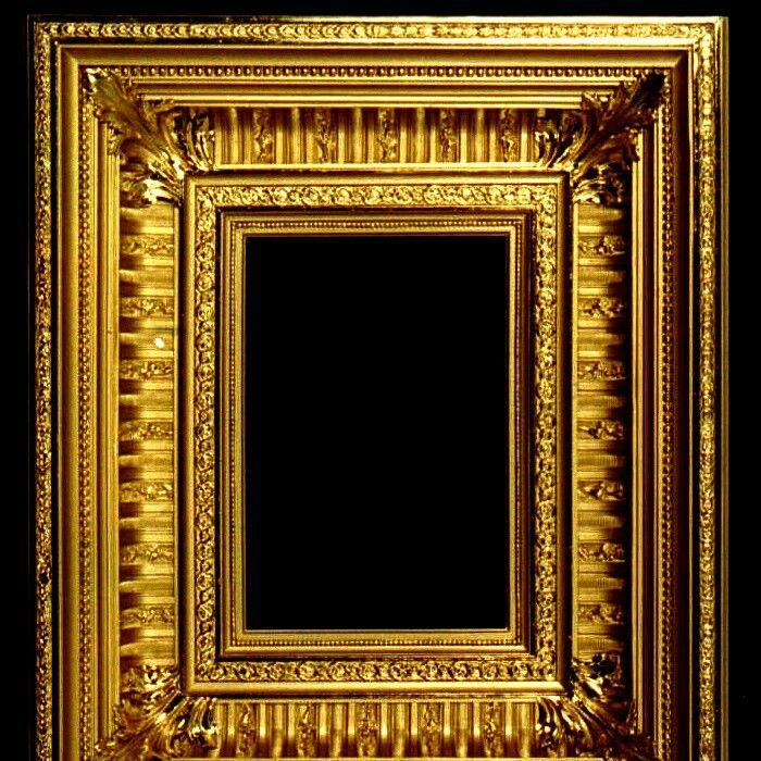#рама #багет #золото #frame #baguette