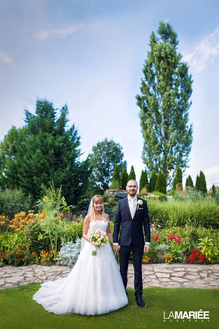 Our bride in Octavia dress and by Pronovias