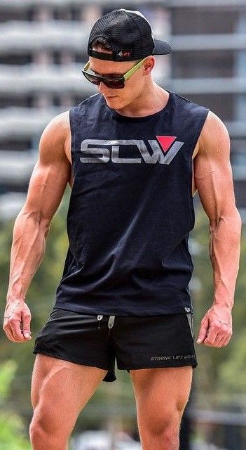 @strongliftwear The SLW Miami Sleeveless is now available in BLACK!  Fully stocked at www.strongliftwear.com