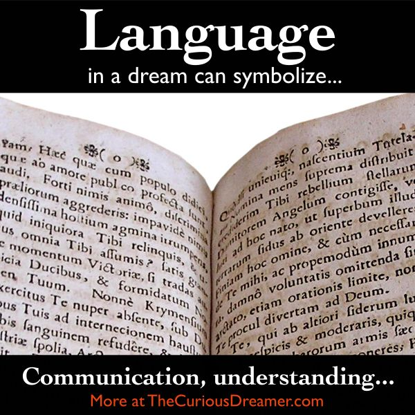 352 best dream interpretation images on pinterest backgrounds language as a dream symbol can mean more at thecuriousdreamer malvernweather Images