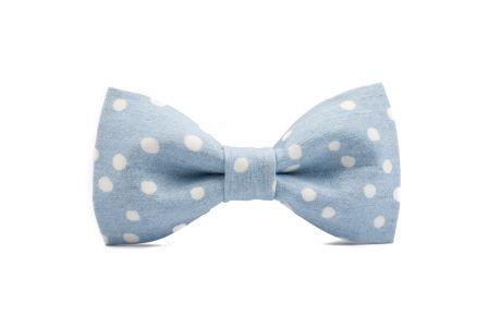 marthu  bow tie WHITE DOTS m0230