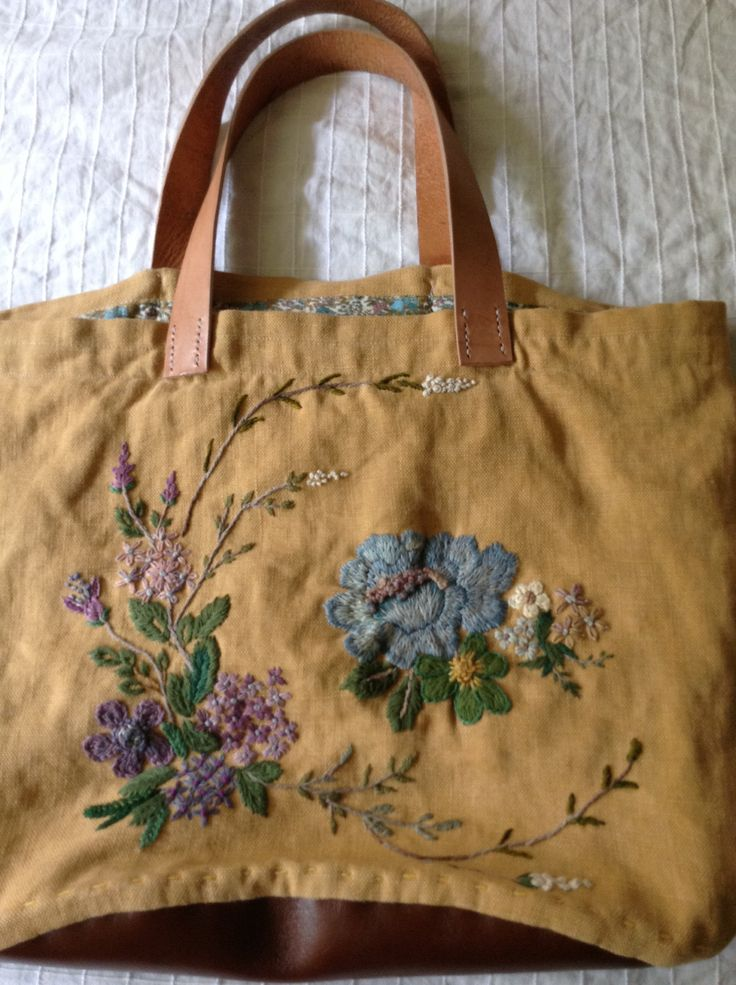 My hand bag and embroidery