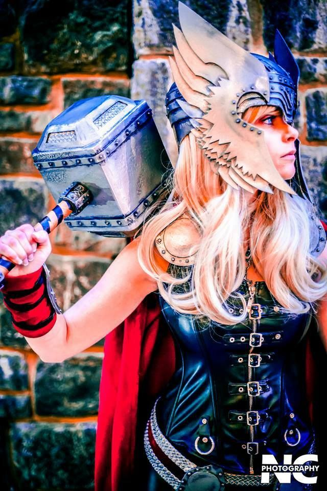 Thor (Marvel Comics) | Source: Kayley Marie Cosplay Friday #109 – KIM POSSIBLE, GAME OF THRONES, & More | Nerdist