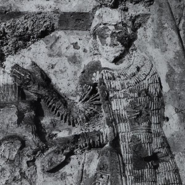 Relief Carving of Prince David Saharouni, Cathedral of Mrèn, Armenia, c.640AD