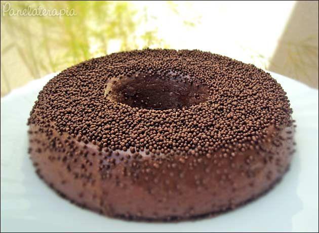 PANELATERAPIA - Blog de Culinária, Gastronomia e Receitas: Brigadeirão de Microondas