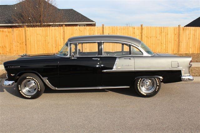55 chevrolet bel air 4 door sedan cars pinterest for 1955 chevy bel air four door