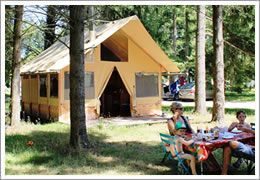 Camping Indigo Les Chateaux, Bracieux, zomer 2015
