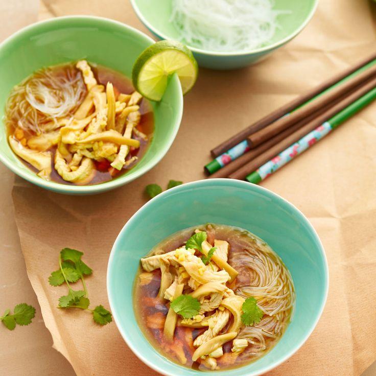 Diese Suppe ist unkompliziert und asiatisch leicht. Genau das Richtige für schnellen, gesunden Genuss.