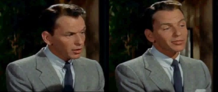Frank Sinatra as Charlie Reader in The Tender Trap, 1955