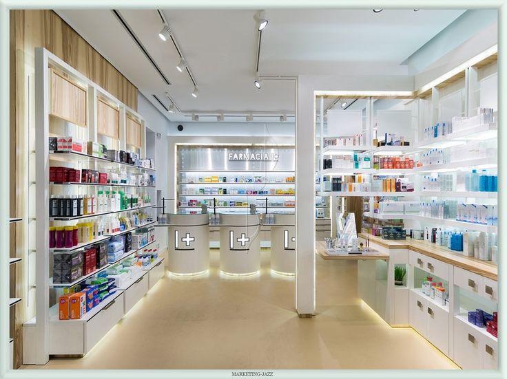entrada moderna franquicia farmacias i+