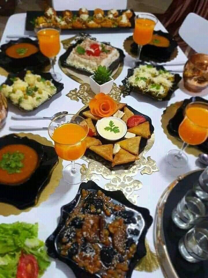 Algerian Dishes أطباق جزائرية Cooking Recipes Algerian Recipes Food