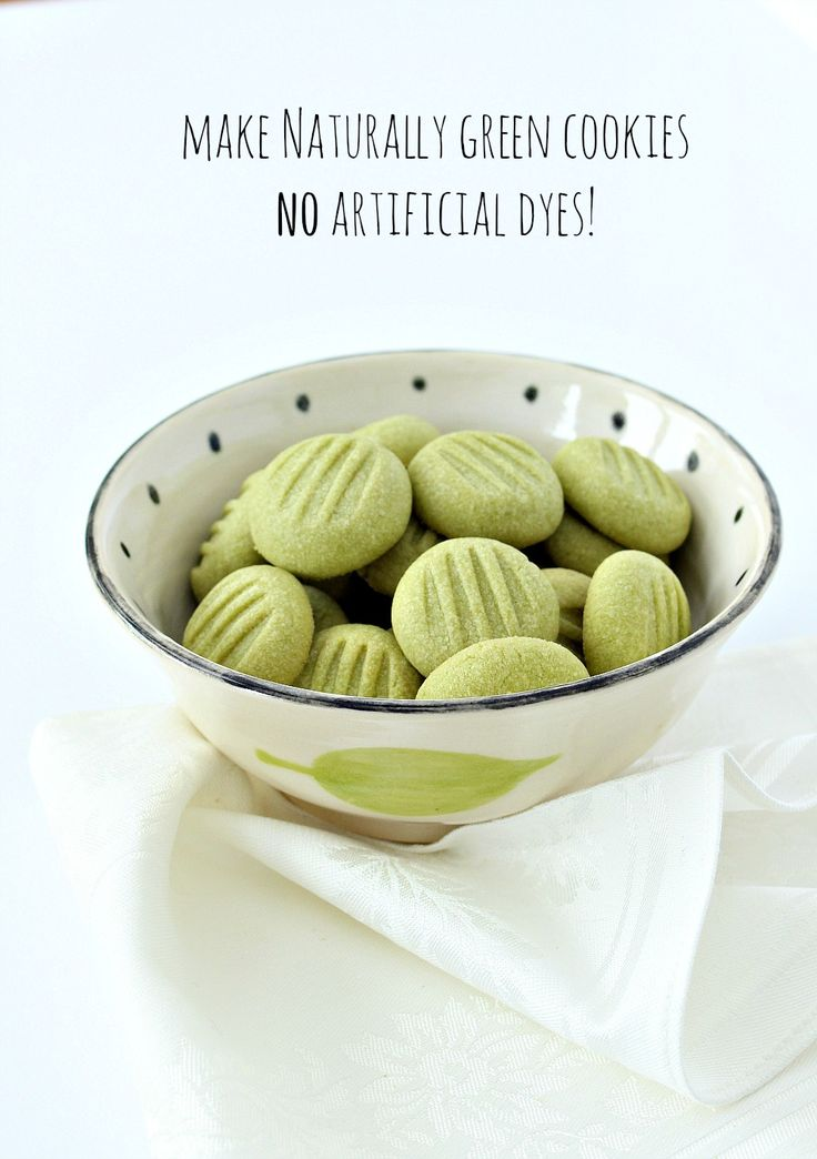 Naturally Green Matcha Tea Shortbread Cookies #MatchaTea #Matcha #ShortbreadCookies #Shortbread #NaturalFood #Cookies #Teas #Alternative #Natural