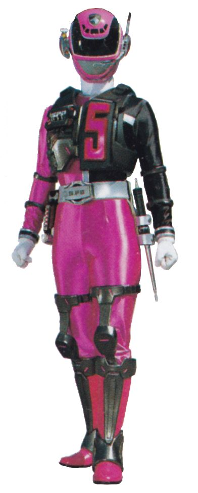 I searched for power rangers spd pink images on Bing and found this from http://powerrangers.wikia.com/wiki/Sydney_Drew