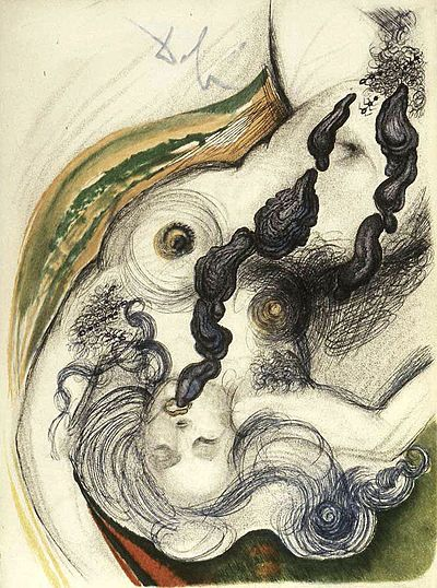 Salvador Dali, Oysters and Nude