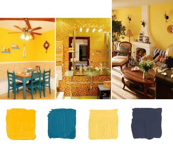Merveilleux Yellow Color Scheme Home Decor Ideas